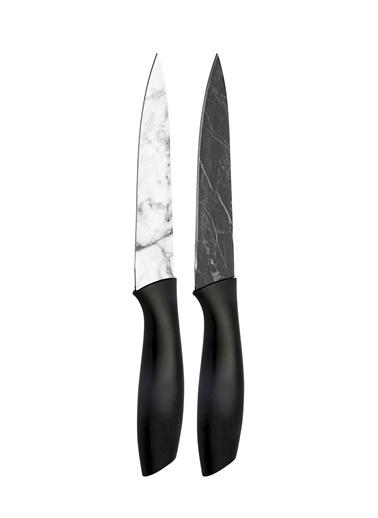The Mia Cutt Kesme Bıçağı 22 Cm - 2 Li Set Siyah